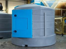 Zbiornik do paliwa X-TANK 5000 L mechaniczny zbiorniki