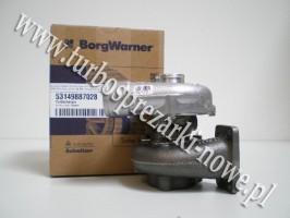 Turbosprężarka BorgWarner KKK - Deutz -  3.8 3045908 /  53149707028 /