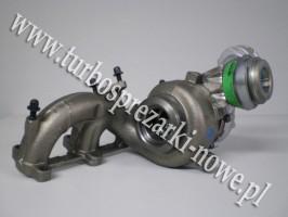 Audi - Turbosprężarka GARRETT 1.9 TDI 751851-0001 /  751851-