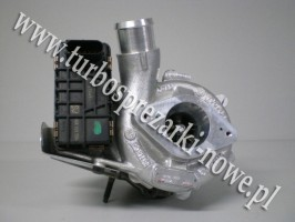 Ford - Turbosprężarka GARRETT 2.2 TDCi 787556-5017S /  78755