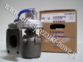 Deutz - Turbosprężarka BorgWarner KKK 4,1 L 53049880214 /  5