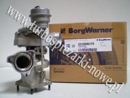 Porsche - Turbosprężarka BorgWarner KKK 3.6 53169886726 /  5