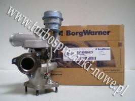 Porsche - Turbosprężarka BorgWarner KKK 3.6 53169886727 /  5