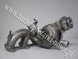 Audi - Turbosprężarka GARRETT 1.9 TDI 454232-0001 /  454232-