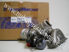 Audi - Turbosprężarka BorgWarner KKK 1.8 TFSI 53039880141 /