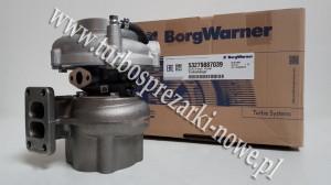 MAN - Turbosprężarka BorgWarner KKK 6.9 53279707025 /  53279