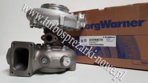 MAN - Turbosprężarka BorgWarner KKK 18.3 53339886725 /  5333